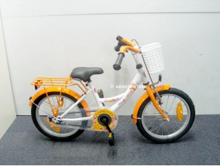 bike fun lollipop oranje 16 inch nieuw